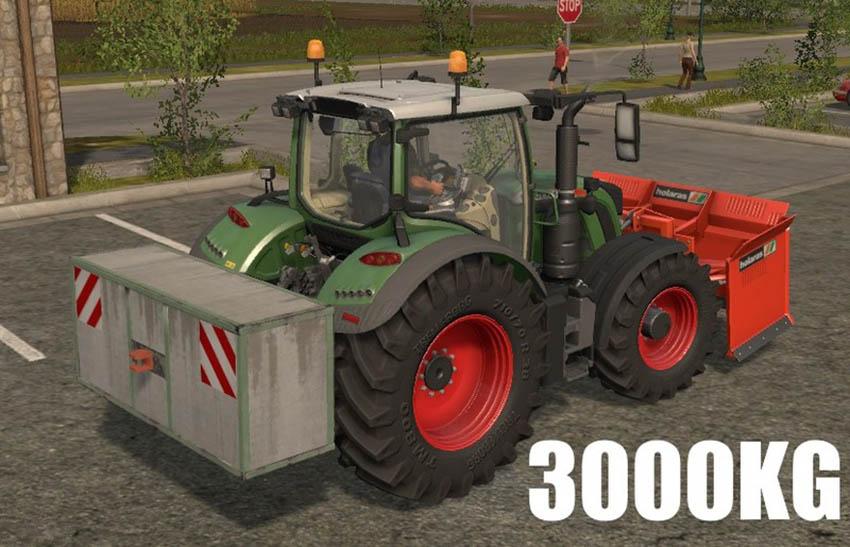 3000Kg Siloweight v 17.0