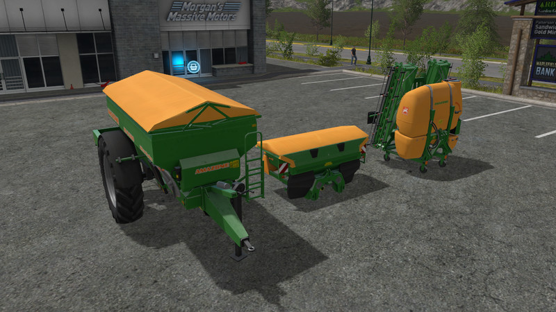 Amazone fertilizer sprayer Modpack v 1.0