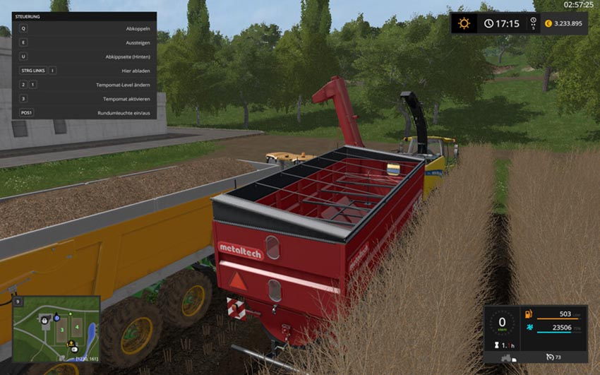 AugerWagon for Woodchips & Chaff V 0.4