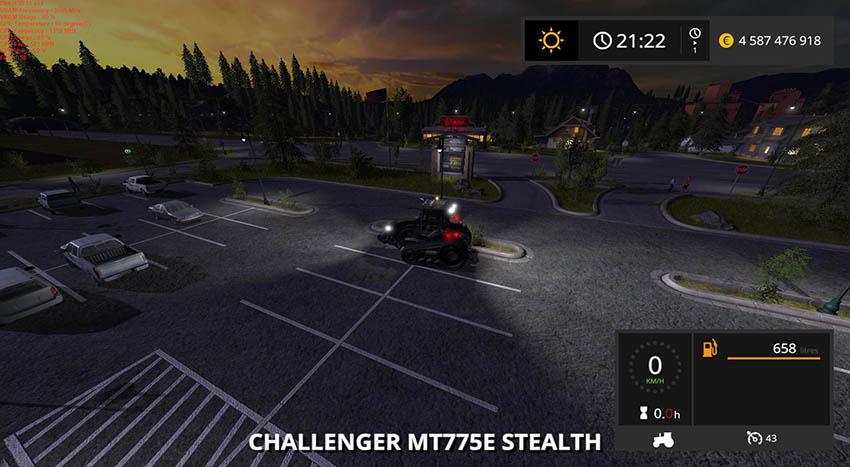 Challenger MT775E Stealth farming gold v 1.0