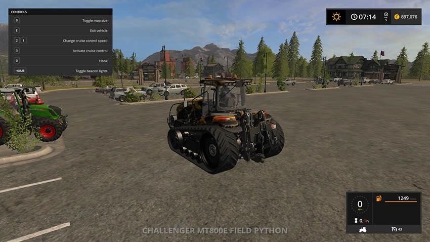 Challenger MT800E Field Python v 1.0