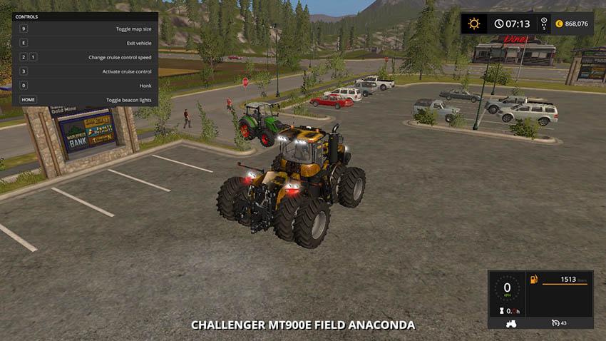 Challenger MT900E Field Anaconda v 1.0