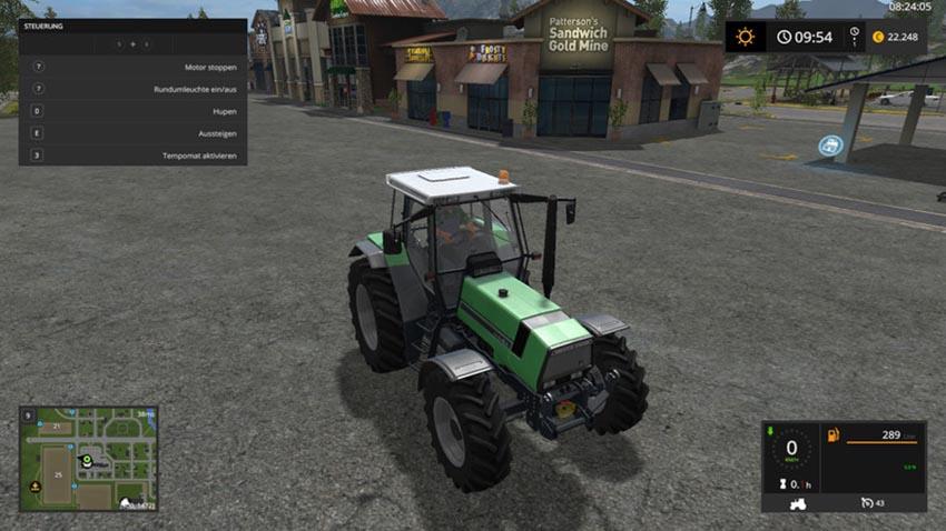 Deutz AgroStar661 with Rundumleuchte v 1.0