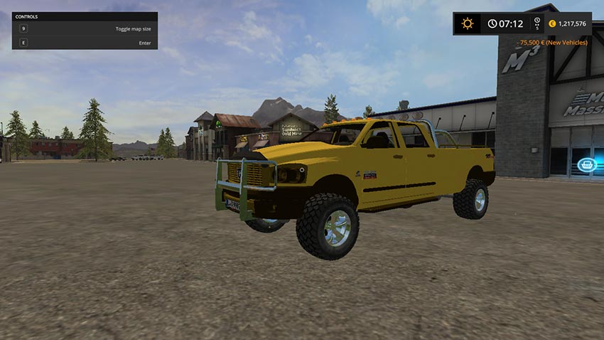 Dodge RAM 2500 Heavy Duty v 2.0