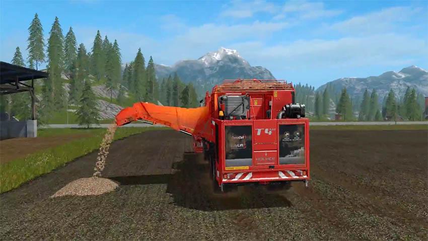 Farming Simulator 17 Tip Anything Trailer