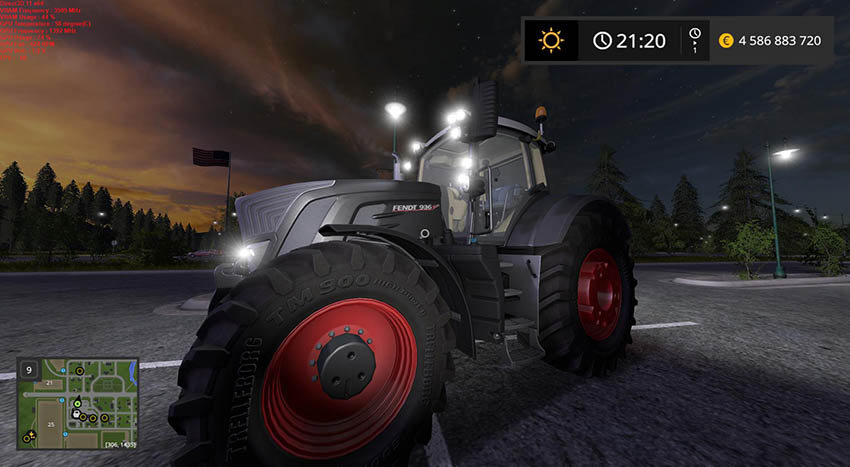 Fendt 900 Black Beauty v 1.0