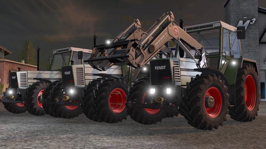 Fendt Farmer 310 312 LSA Turbomatik Pack v 1.0