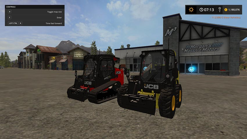 JCB 260 325T with color selection v 1.0