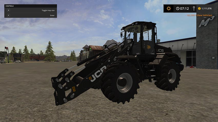 JCB 435s Black v 1.0