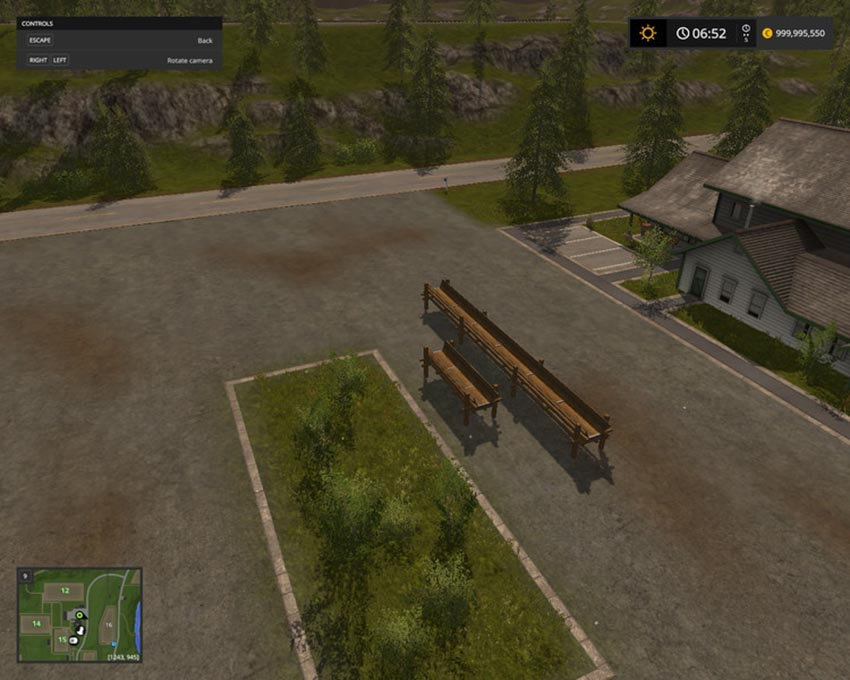 Log Holder pack v 1.0