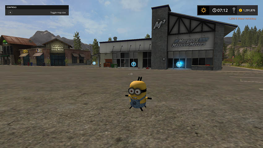 Minion Weight v 1.0