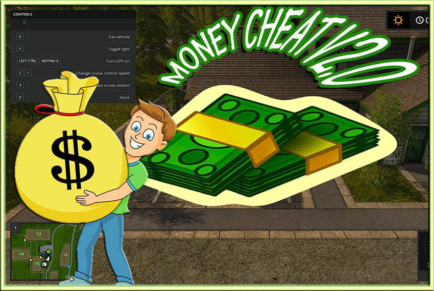 Money Cheat v 2.0