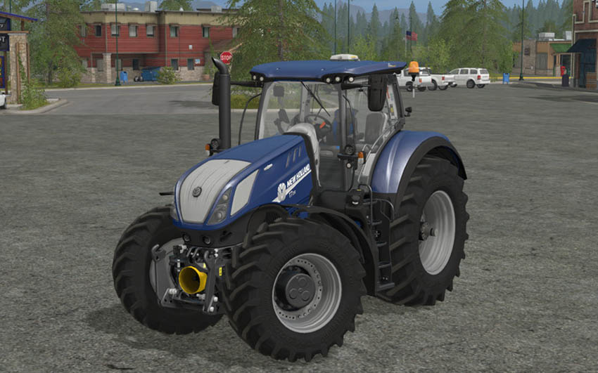 New Holland T7 Heavy Duty Blue Power v 1.0