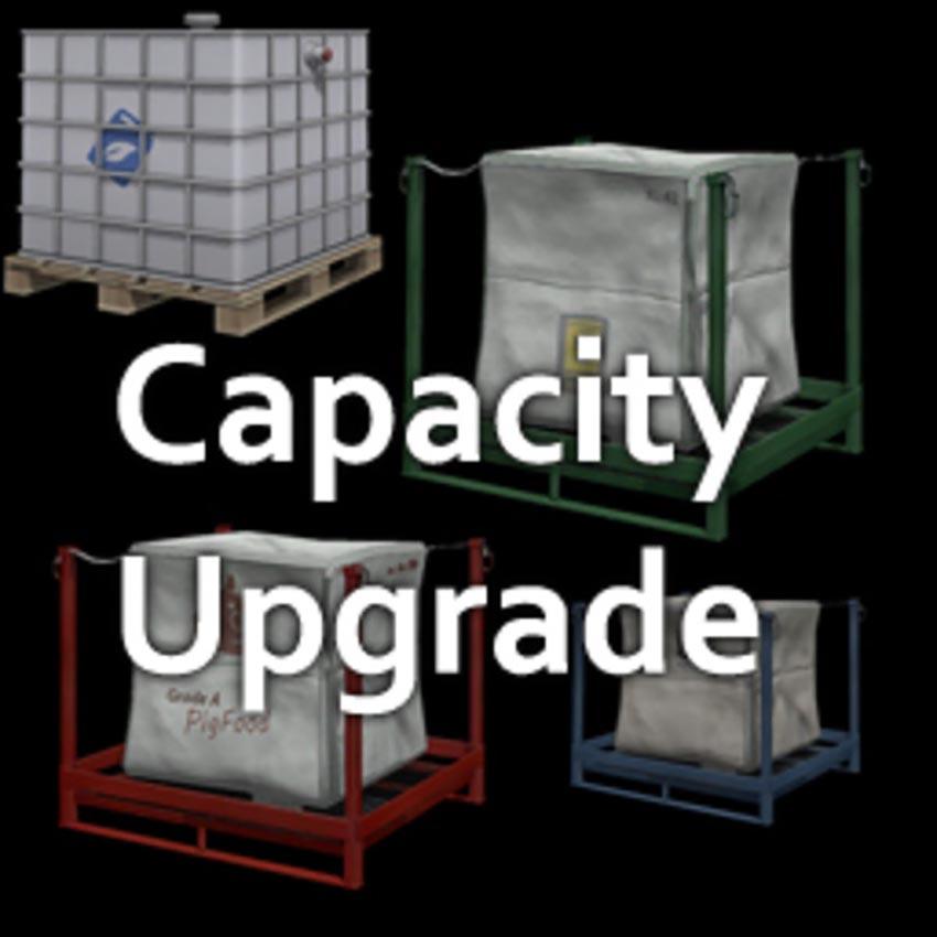 Pallet Capacity Upgrade v 1.0.1