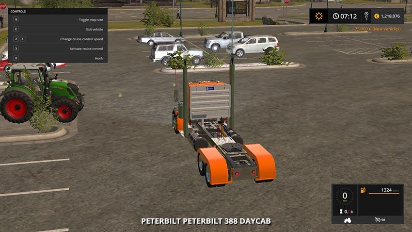 Pete 388 Daycab v 1.0