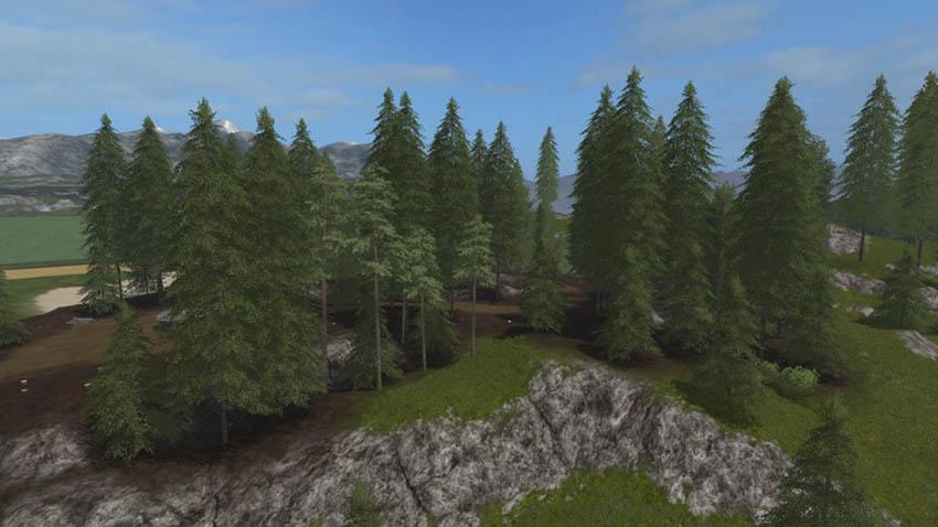 Placeable Pine Standard Set v 1.0
