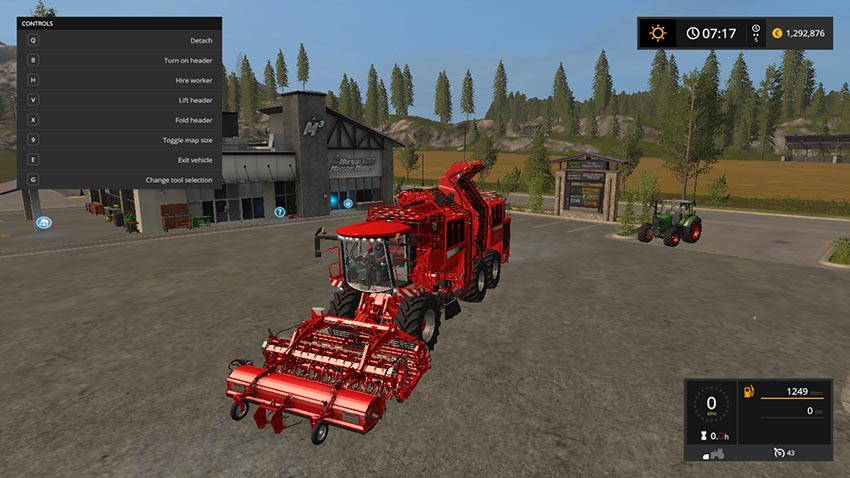 Potato harvester + attachment v 1.1
