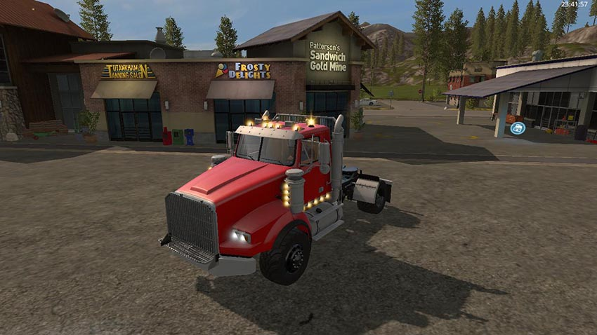 Single Axle Semi Upgraded v 1.0
