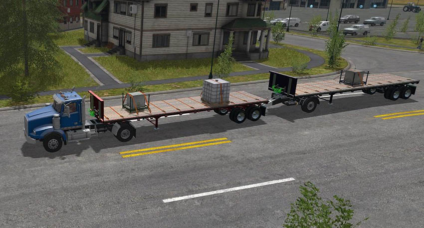 US Trailer With Tension Belts v 1.0