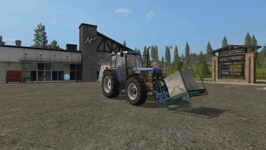 Adaptor frame implement frontloader v 1.0