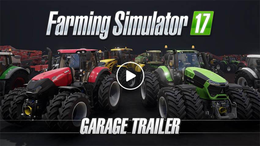 Farming Simulator 17 Garage Trailer