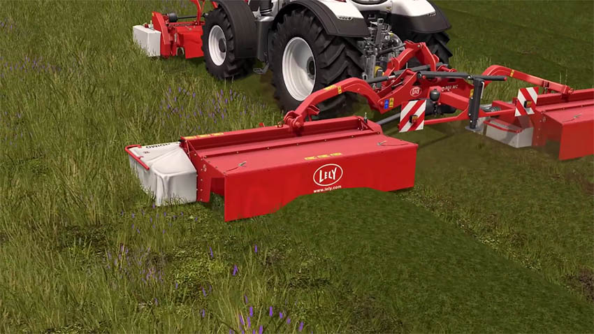 Farming Simulator 17 Lely video trailer
