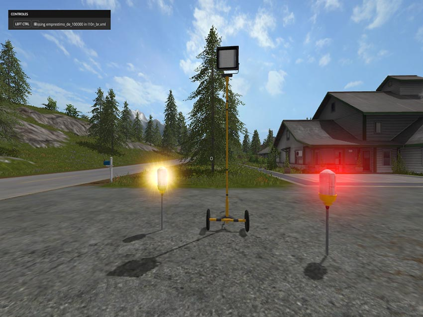 Placeable Warning Lights