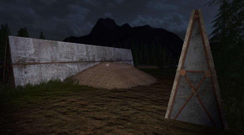 Silo walls placeable v 1.0