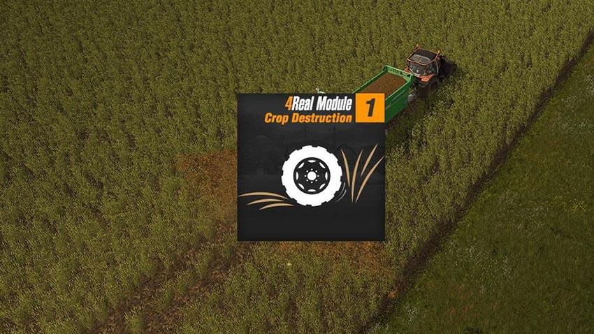 4Real Module 01 Crop destruction v 1.0.2.0