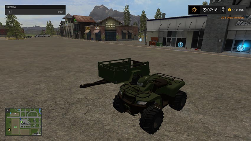 ATV + ATV Trailer V 1.0