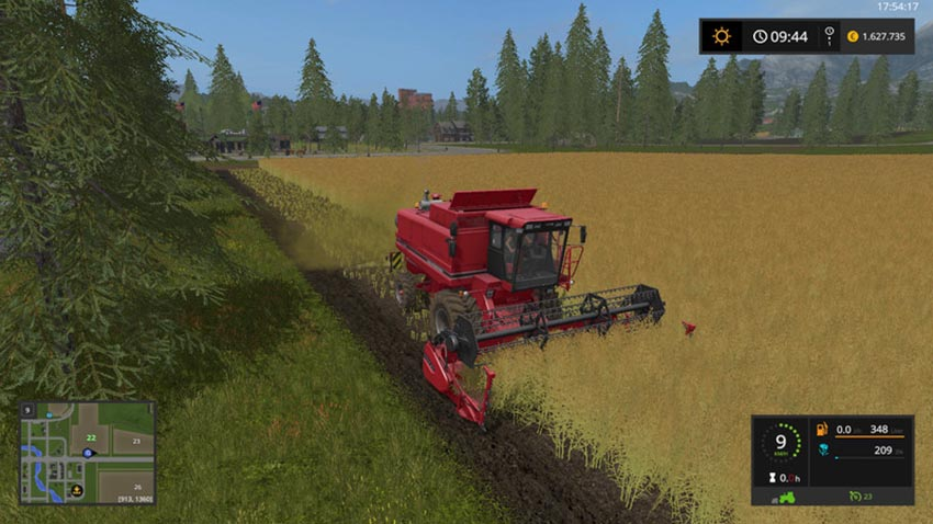 Case 1055 18FT Cutter v 1.0