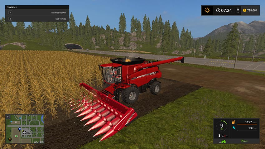 Case IH Axial-Flow 9240 V 1.0