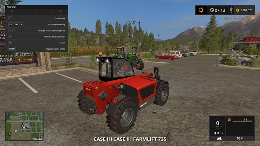 Case IH Farm Lift 735 V 1.0
