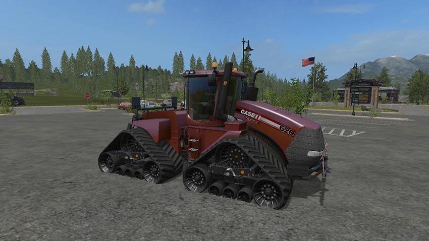 Case Tractors Plough Cultivator v 1.1