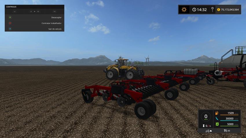 Case IH Cart Air Seeder 32m V 1.0