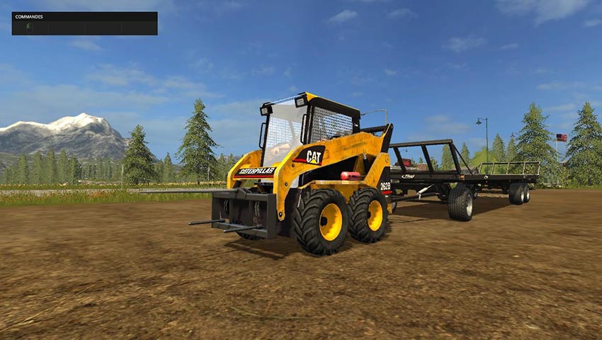 Caterpillar 262B Skid Sterr Pack v 1.0