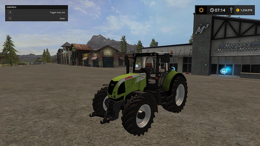 Claas Arion 620 V 1.0 BETA