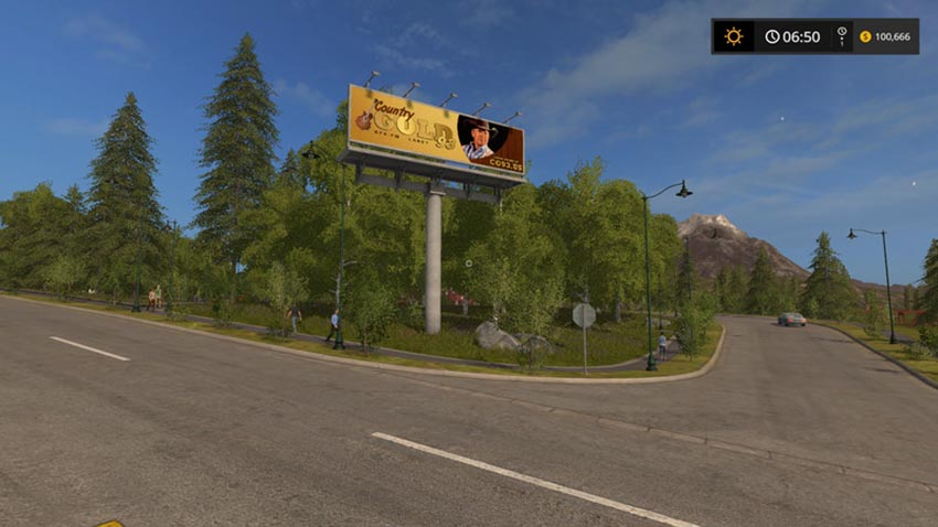 Country GOLD Radio and Billboard Pack V 1.0