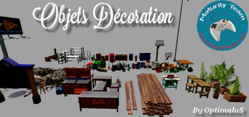 Decoration Objects V 1.0