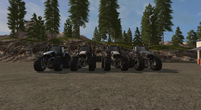 Deutz Fahr Series 9 Designer Edition V 1.0