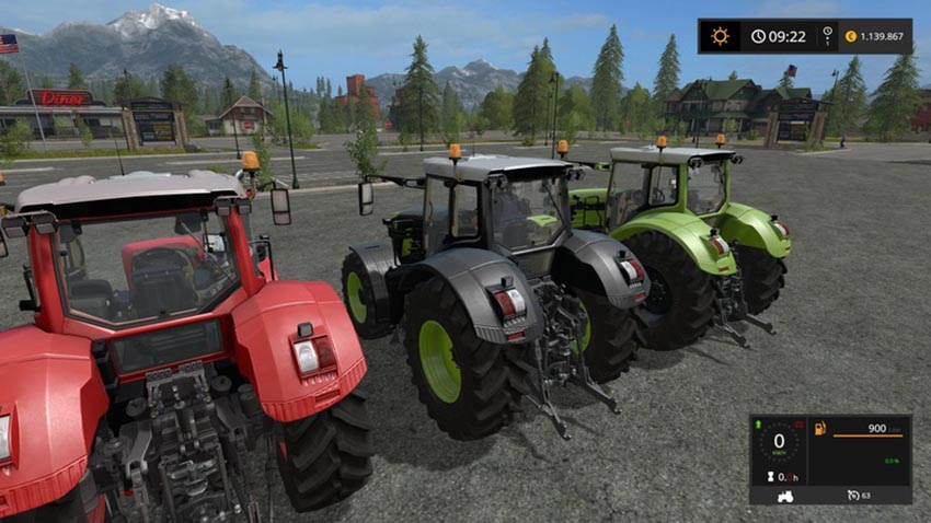 Fendt 900 Vario Extreme with full color selection V 1.1