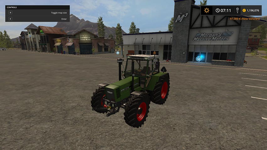 Fendt Favorit 615 LSA V 1.0