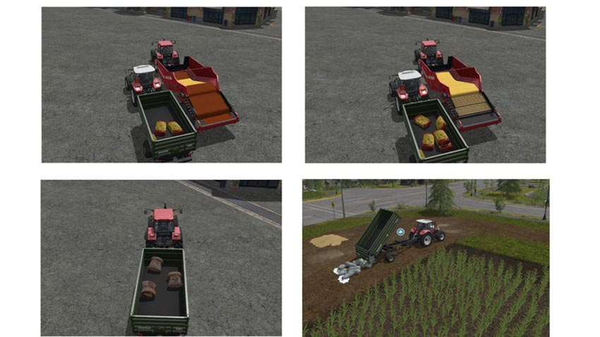 Fertilizer seeds and pig feed refill with hand V 1.1