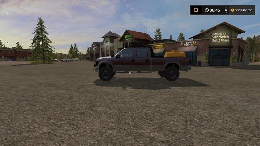 Ford F-250 Utility Truck