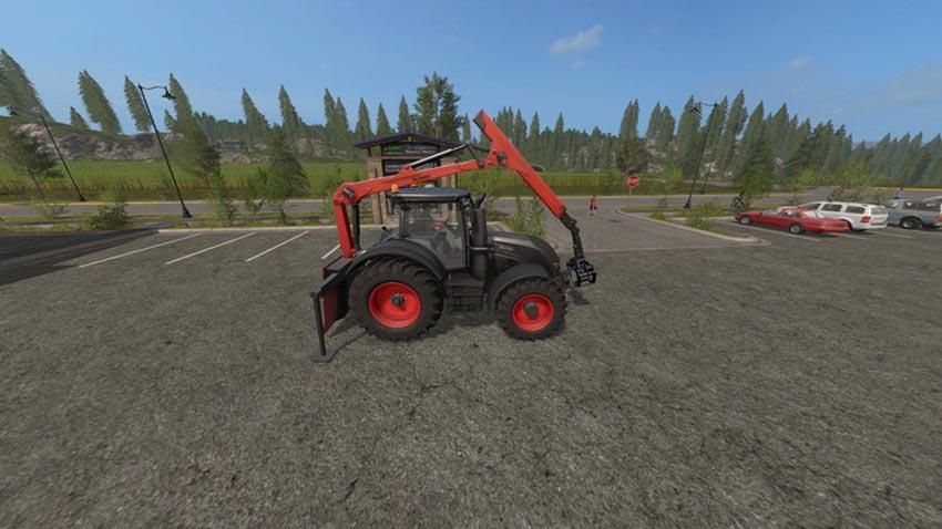 Forestry Heckkran V 3.0