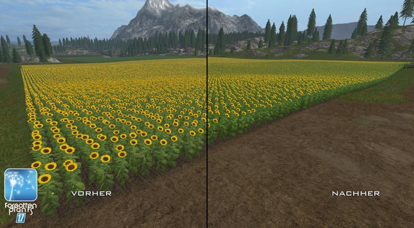 Forgotten Plants - Sunflowers V 1.1