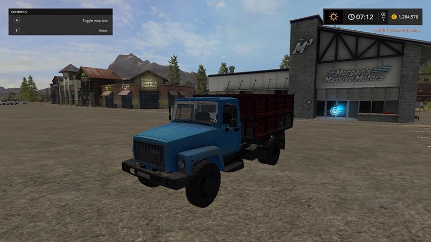GAZ 3307 v 1.0