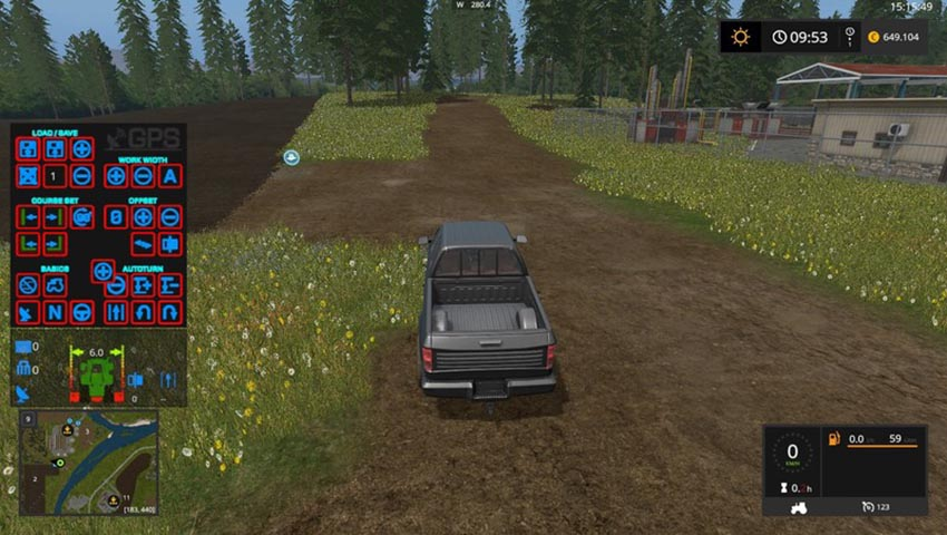 GPS HUD Color Mod V 3.0