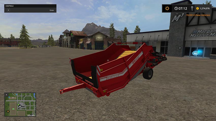 Grimme RH2460 with added fruits and pallets v 1.0