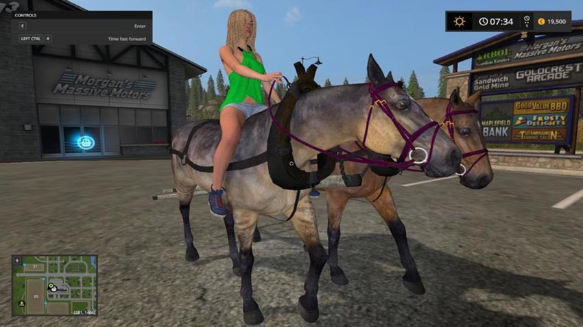 Hard Working Horses V 1.0